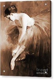 Ballet Girl 012 Acrylic Print