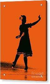 Ballet Girl Acrylic Print