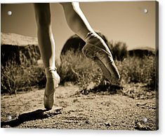 Ballet Pointe Acrylic Print