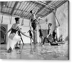 Ballet Practice - Havana Acrylic Print