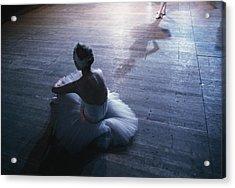 Ballet Rehearsal, St. Petersburg Acrylic Print by Sisse Brimberg