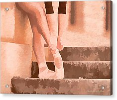 Ballet Shoes Acrylic Print
