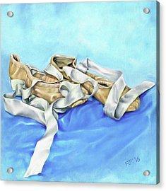 Ballet Shoes Acrylic Print by Richard Mountford