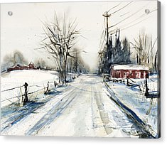 Ballina Road Acrylic Print