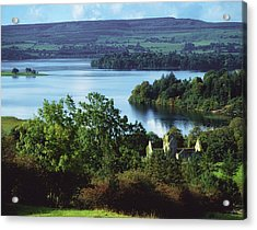 Ballindoon Abbey, Lough Arrow, County Acrylic Print by The Irish Image Collection