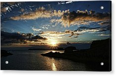Ballintoy Sunrise Acrylic Print