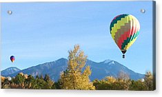Ballons At Taos Mountain Acrylic Print