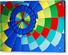 Balloon Fantasy 8 Acrylic Print by Allen Beatty