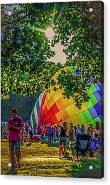Acrylic Print featuring the photograph Balloon Fest Spirit by Kendall McKernon