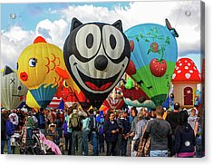 Balloon Fiesta Albuquerque II Acrylic Print