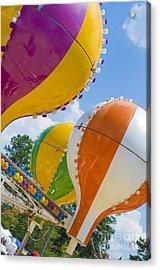 Balloon Fun Acrylic Print by Maureen Norcross