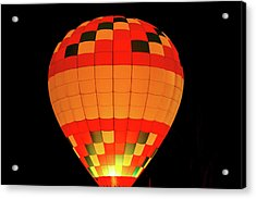 Balloon Glow 1 Acrylic Print by Lone Dakota Photography