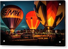 Balloon Glow Acrylic Print by Marvin Spates