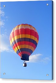 Balloon In Flight Acrylic Print by Eddie Armstrong