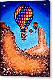 Balloon Kats Acrylic Print