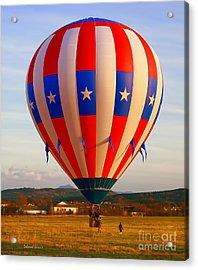 Balloon Landing Acrylic Print