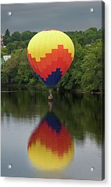 Balloon Reflections Acrylic Print