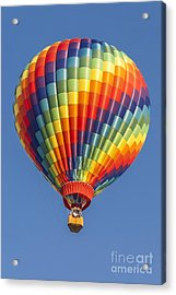 Ballooning In Color Acrylic Print by Anthony Sacco