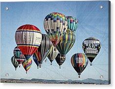 Ballooning Acrylic Print