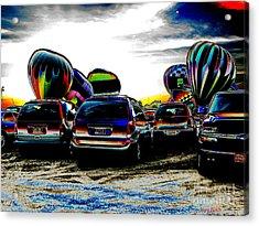 Balloons Acrylic Print by Greg Patzer