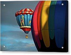 Balloons In Flights Acrylic Print