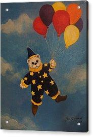 Balloons Acrylic Print by Joan Barnard