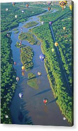 Balloons Over The Rio Grande Acrylic Print