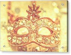 Ballroom Glitter Acrylic Print