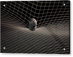 Acrylic Print featuring the photograph Balls In A Net by Paul SEQUENCE Ferguson             sequence dot net
