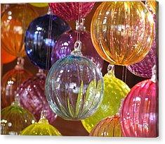 Balls Of Glass Acrylic Print by Richard Mansfield