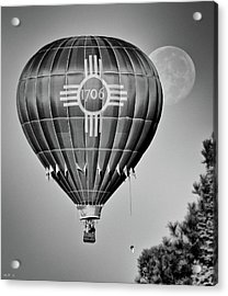 Acrylic Print featuring the photograph Ballunar Eclipse by Kevin Munro