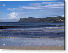 Ballycastle Beach Acrylic Print by Trevor Buchanan