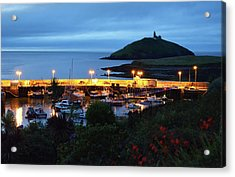 Ballycotton Ireland Marina Harbour And Lighthouse East County Cork Acrylic Print by Shawn O'Brien