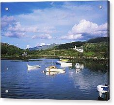 Ballycrovane Harbour, Beara Peninsula Acrylic Print