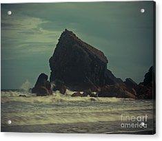 Ballydwane Cove Acrylic Print