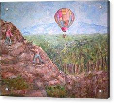 Baloon Acrylic Print by Joseph Sandora Jr