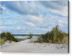 Baltic Sea Acrylic Print by Joachim G Pinkawa