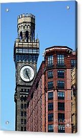 Baltimore Bromo Seltzer Tower Acrylic Print