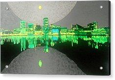 Baltimore Acrylic Print by Jason Charles Allen