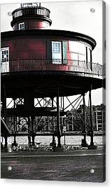 Baltimore Lighthouse Acrylic Print