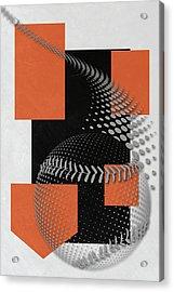 Baltimore Orioles Art Acrylic Print by Joe Hamilton