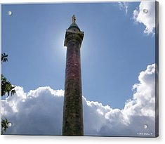 Acrylic Print featuring the photograph Baltimore's Washington Monument by Brian Wallace