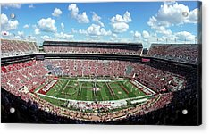 Bama Spell-out Panorama Acrylic Print