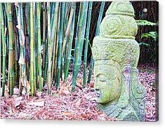 Bamboo Asia Sculpture  Acrylic Print