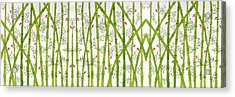 Bamboo Forest Acrylic Print by Sumit Mehndiratta