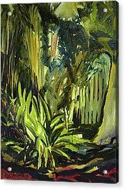 Bamboo Garden I Acrylic Print