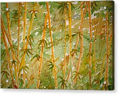 Bamboo Jungle Acrylic Print