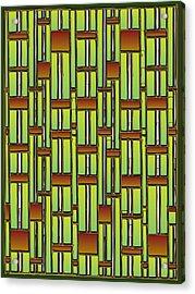 Bamboo Overdose  Acrylic Print by Marta Podkul