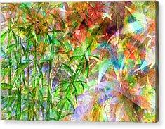 Bamboo Paradise Acrylic Print