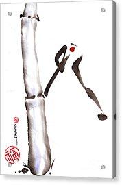 Bamboo Spirit Dance Acrylic Print